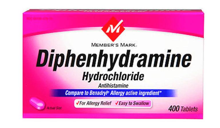 Thuốc kháng sinh Diphenhydramine