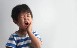 Trẻ bị đau răng