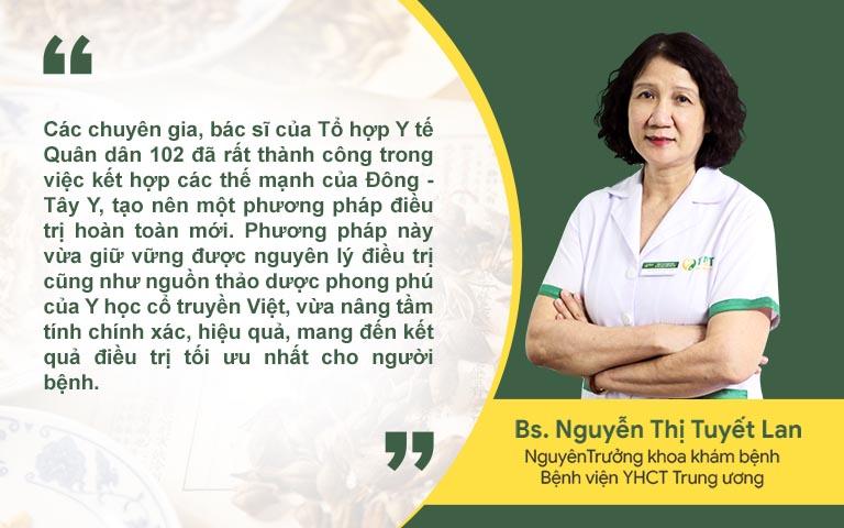 Bác sĩ Nguyễn Thị Tuyết Lan nhận định về Đông Y có biện chứng