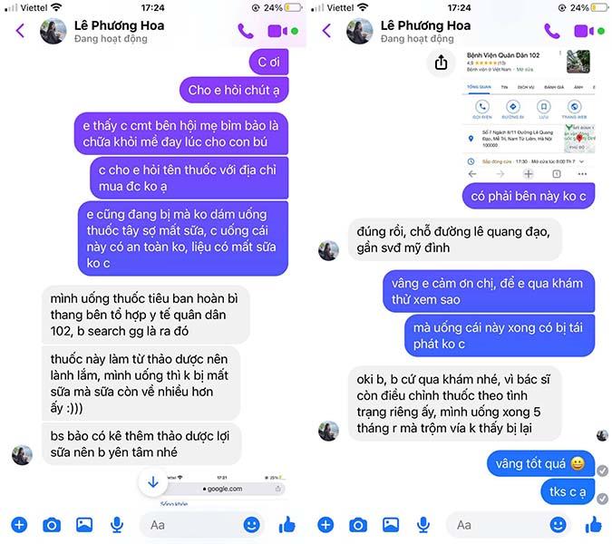 Biết đến Quân dân 102 thông qua feedback của một người trên facebook