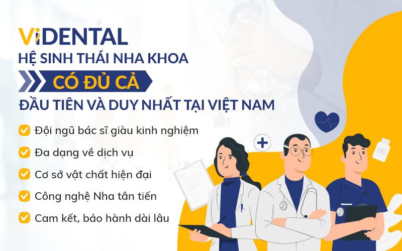 """Viện Nha khoa Vidental nơi """"CÓ ĐỦ CẢ"""" các yếu tố hàng đầu của một nha khoa đạt chuẩn Quốc tế"""