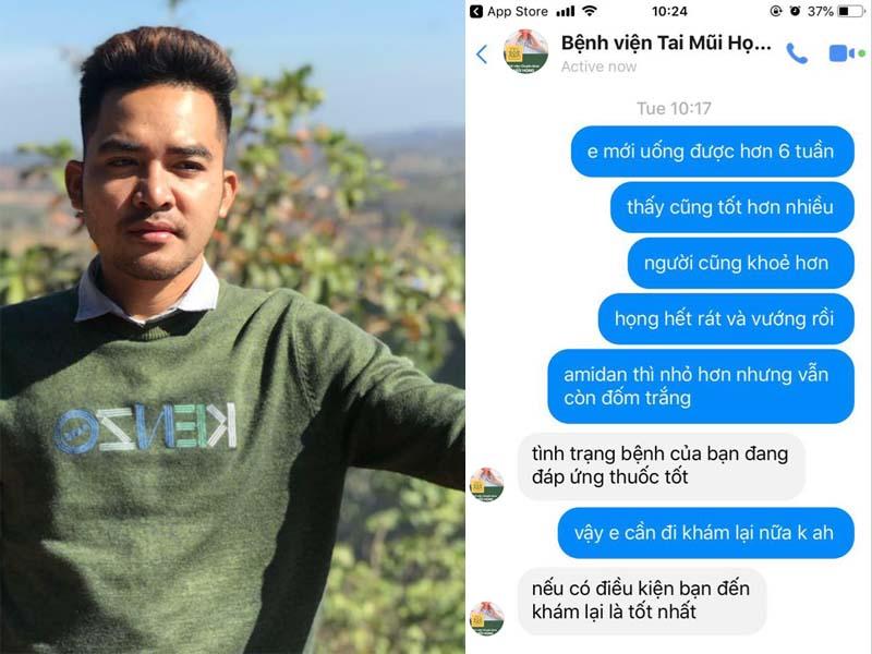 Chia sẻ của anh Trần Mạnh Hùng