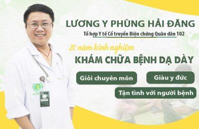 Lương y Phùng Hải Đăng chữa dạ dày Quân dân 102