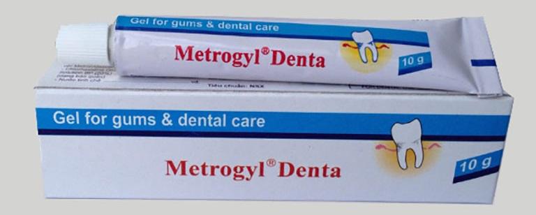 Thuốc điều trị bệnh viêm nha chu Metrogyl Denta