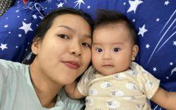 Chị Giang hiện tại đã khỏi bệnh và sinh em bé khỏe mạnh